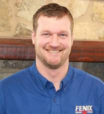 Luke, a member of Fenix's HVAC team in Wichita
