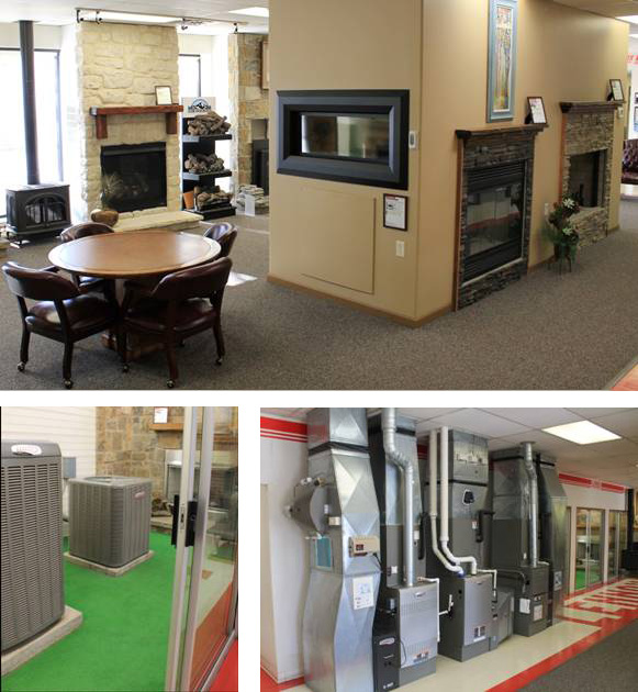 showroom - What to expect when you get a new Lennox system from Fenix Heating and Air Conditioning