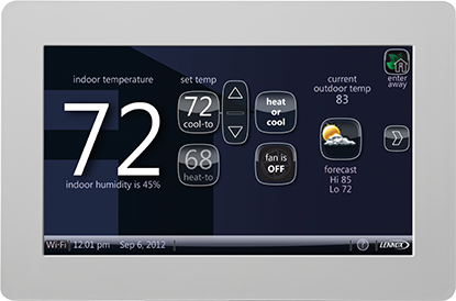 lennox touchscreen thermostat - A Warning Before Buying a New Thermostat