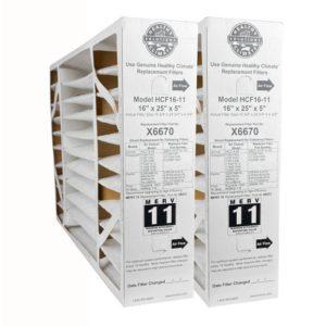 Lennox MERV 11 air filter is a good choice to remove hazardous particles and keep good air flow